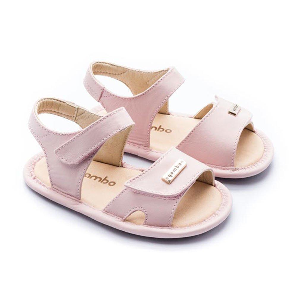 Sandália Básica Fecho Duplo Baby Gambo Feminina S20543-RO