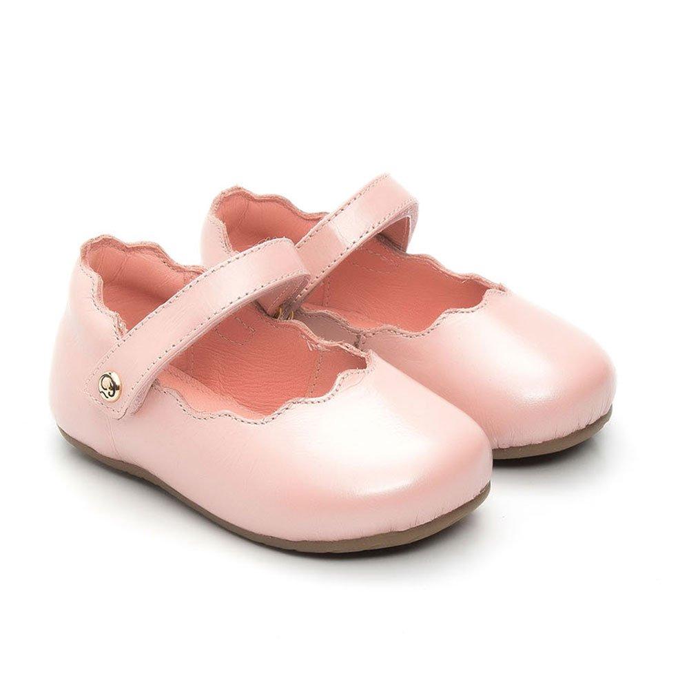 Sapatilha Infantil em Couro Gambo Baby Nuvem Feminino