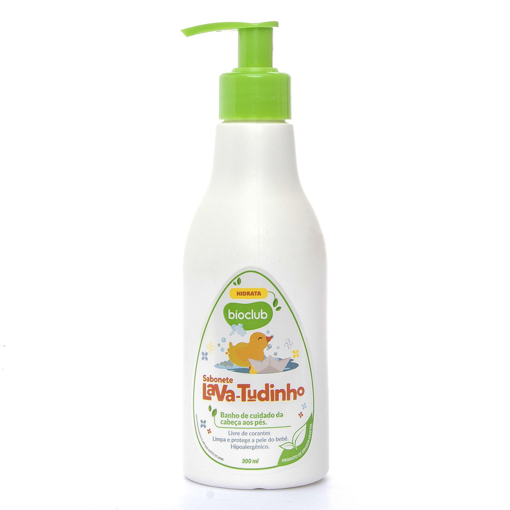 Sabonete Liquido infantil Bioclub Baby 300 ml